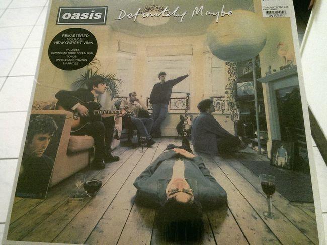 Oasis Definitely Maybe Noel Gallagher Liam Gallagher