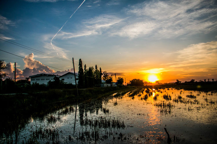 The most successful people in the world Have made many mistakes And experienced far more failure than the rest. Sky Sunset Cloud - Sky Water No People Outdoors Waterfront Orange Color Blue Sky Landscape Stay Out My Best Photo
