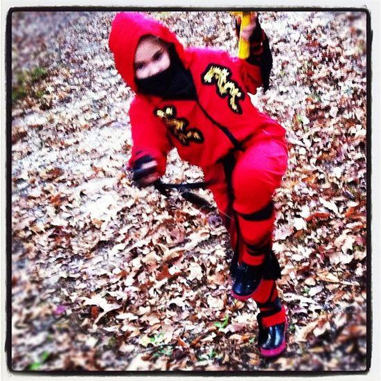 Ninjaskills Redninja Halloweenfun ??