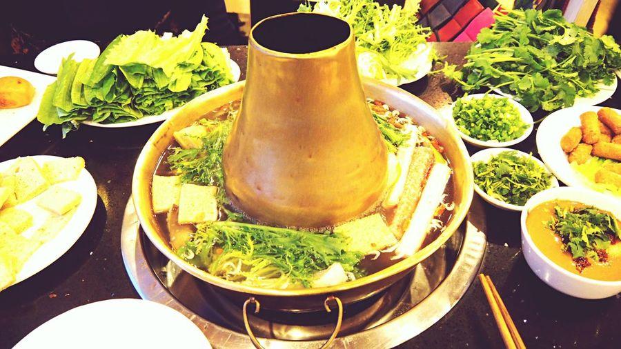 迎宾楼 Yinchuan,China 铜锅 火锅 Hotpot