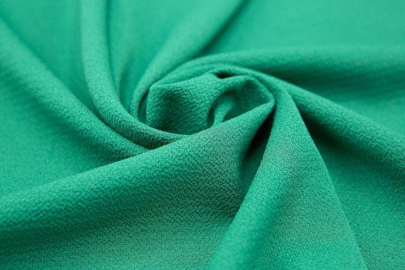 Full frame shot of green fabric