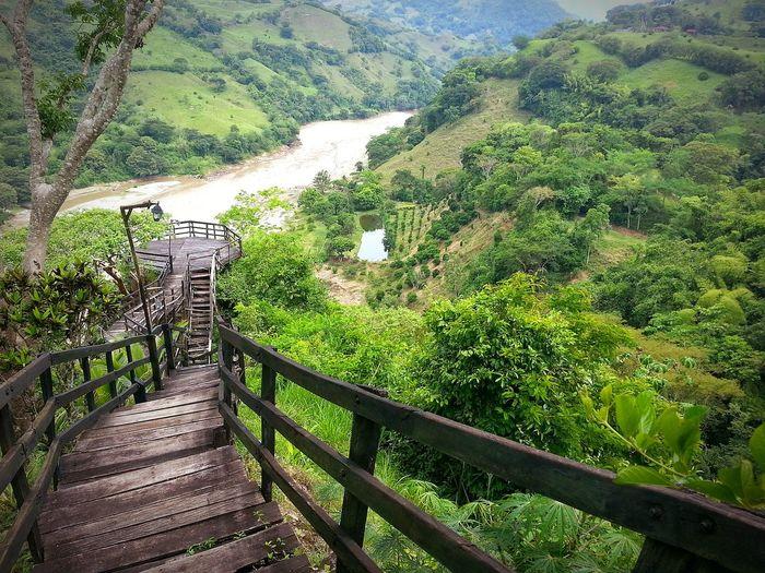 Río Cauca Cañón Del Pipintá Antioquia Colombia