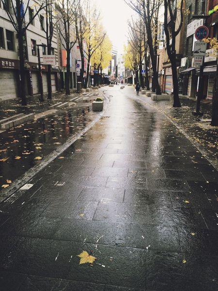 Rainy Days Fall Autumn Winter Insadong Insadong