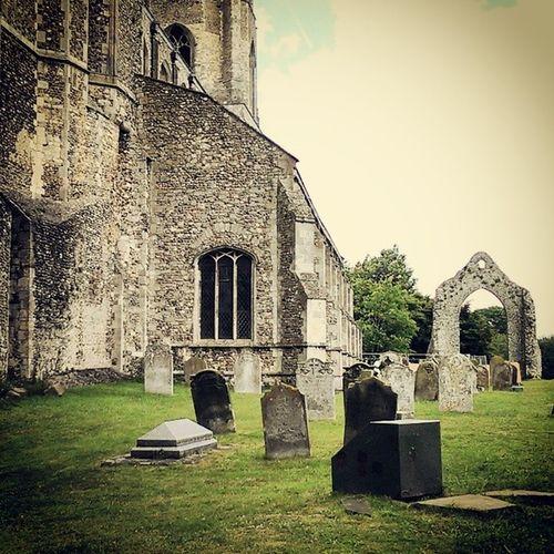Wymondham Wymondhamabbey Wymondhamruins Church abbey old ruins graves photography instagram