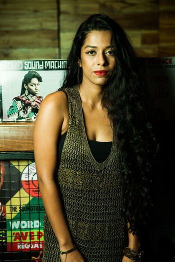 Indie musician at a club. Indie Musician Female Indie Musician Indie Music Scene Delhi Indie Music Scene Indi Graffiti Wall Music Club Portraits Girl With Red Lipstick Indie Lifestyle