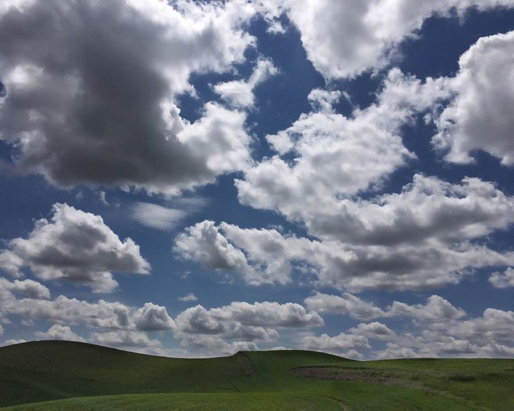 IPhone Photography Clouds And Sky Big Clouds Clouds Hills And Clouds Palouse Country Wheat Fields