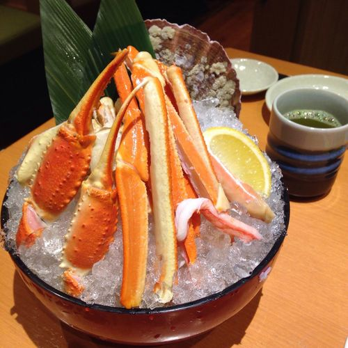 I love Snow Crab 💕😋 SnowCrabLegs Crab Japanese Food Food Yummy Eating