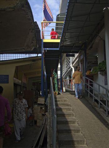 dayly view at chowkit market kuala lumpur Kuala Lumpur Malaysia  Chow Kit Marketplace