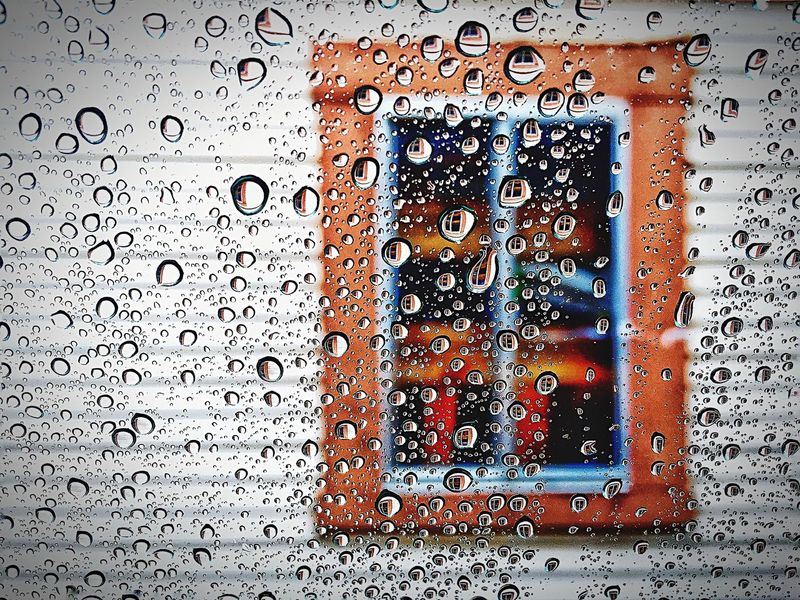 Drop Window Full Frame Rain Backgrounds Wet No People Sky Close-up Indoors  Water RainDrop Day L. Jeffrey Moore IPhoneography Car Iphone6plus