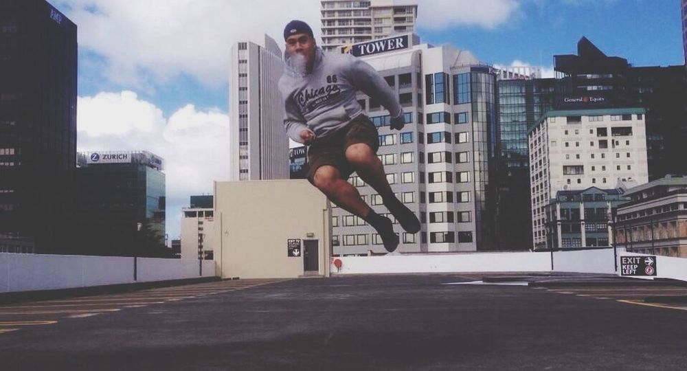 City Rooftops Having Fun LOL