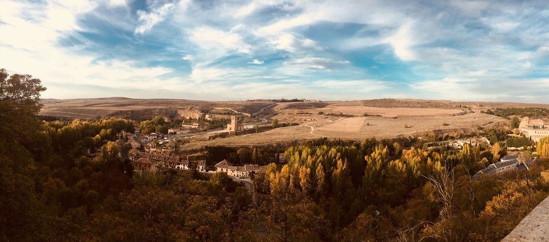 EyeEm Selects Segovia Landscape SPAIN Beauty In Nature Sky Tranquil Scene Tranquility Cloud - Sky Scenics Travel Destinations