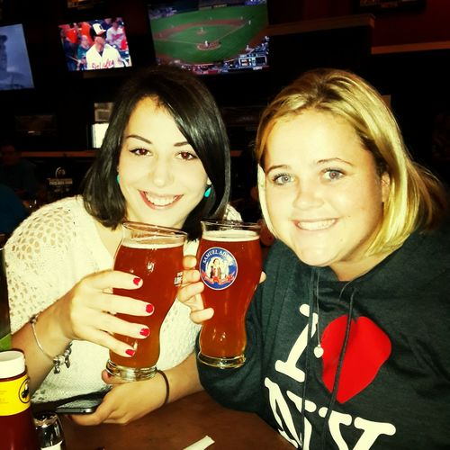 **cheers** Let's Go Drink Beer International Friends Out And About Leggo