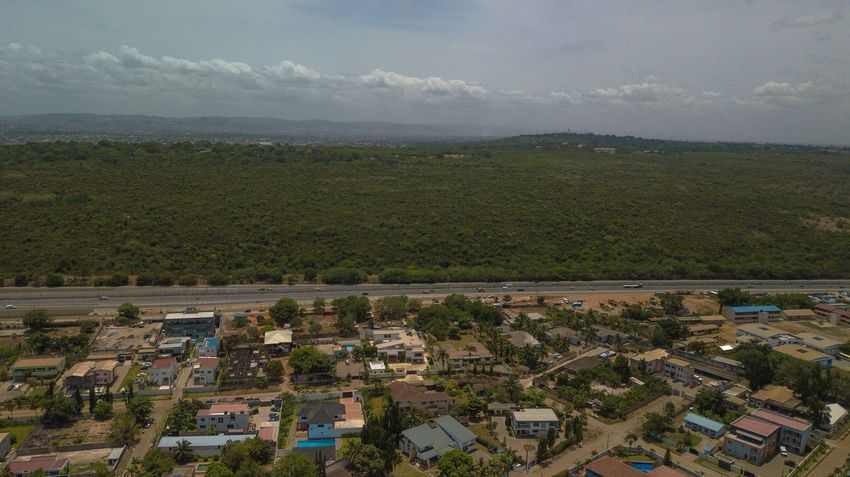 Dzorwulu means Valley in a Local Ghanaian Dialect. Dorofoto Eyeemghana Onefotos Environment Landscape Architecture Land Scenics - Nature Field City Agriculture Beauty In Nature Aerial View Nature Cityscape High Angle View Sky Day