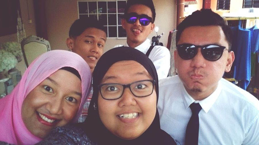August 2014.Cheese! People Wedding Day Family