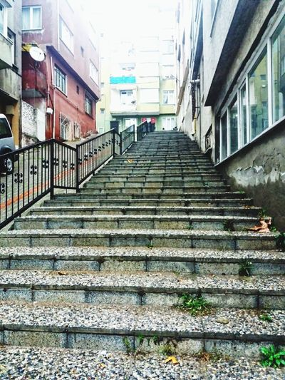stairs like life.. Old Buildings Oldstairs City Steps And Staircases Steps Staircase Architecture Building Exterior Sky Built Structure Stairs The Architect - 2018 EyeEm Awards