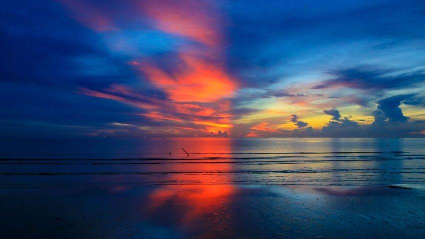 Sea Sky Nature Bannaithung Nakhon Si Thammarat Thailand