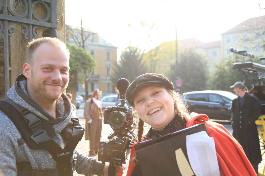Life on set filmset behind the scenes buissnes woman Director filmmaker mompreneur Setlife knitterfisch That's Me Knitterfisch