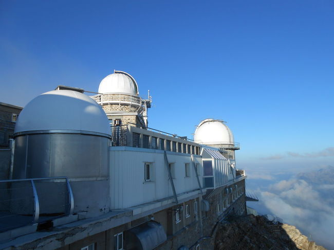 observatory Pic Du Midi Top Of The Mountains Peak Pyrenees 3000m Astronomy Research Radar Dome Clear Sky Sky Astronomy Telescope Telescope Spiral Staircase Steps And Staircases Stairway Steps