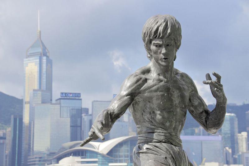 HongKong Hong Kong Brucelee Bruce Lee Statues Victoria Harbour I Love Hong Kong Hongkonger Martial Arts Avenue Of Stars
