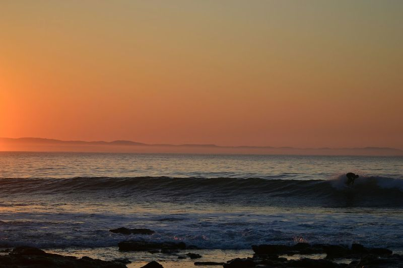 Sunrise Landscape Sunrise Landscape Sunrise Surfing Surf J-Bay Morning Surf South Africa Nikon