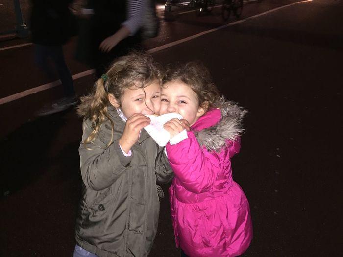 Kids Kids Having Fun Kids Eating Food Cold Hi! Fun 2 Girls