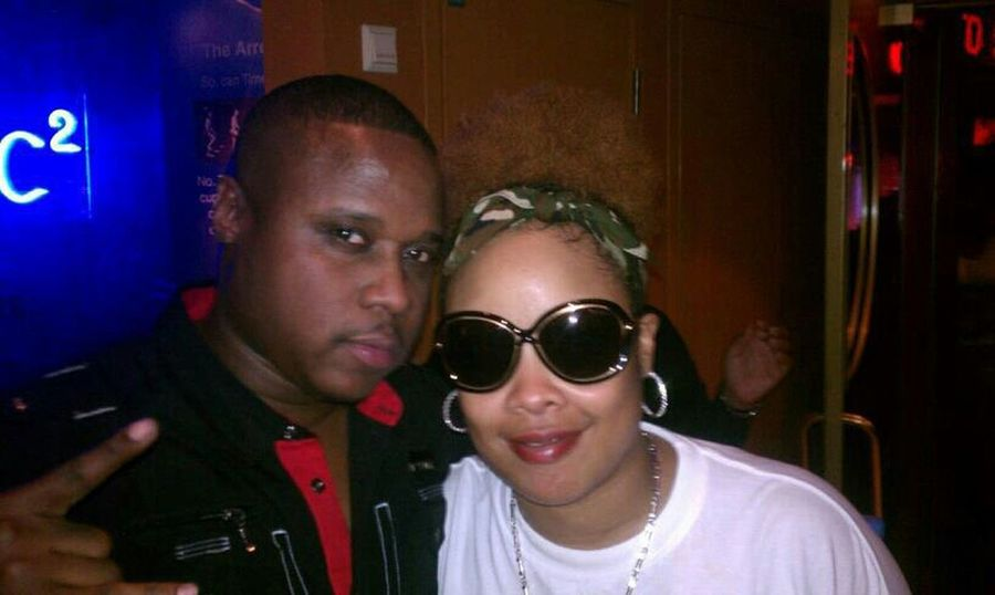 W/ the homie da brat so so def Hanging Out Miami Houston Just Chilling Swagg