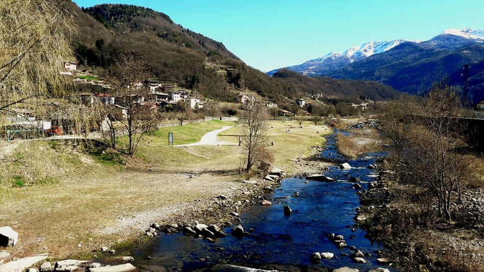 Italy Landscape Trentino  Outdoors Beauty In Nature Water Mountain Nature Day Sky Italy Sun