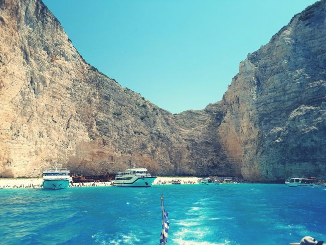 Zante Zakhyntos Shipwreck Bay Water Mountain Blue Swimming Pool Sky
