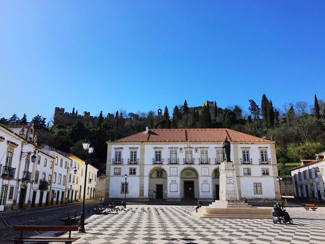 Portugal Tomar Oldcity EyeEm Gallery Sightseeing Calçada Portuguesa Tourism Sun Summer Castle Convento De Cristo