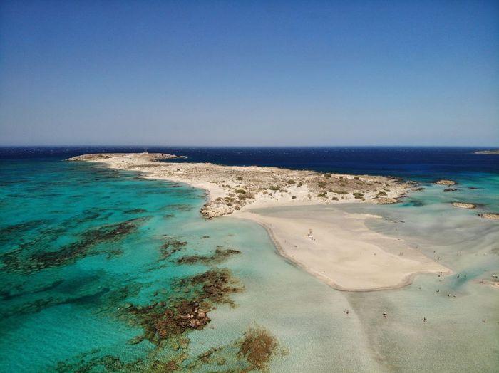 Elafonisi Sea