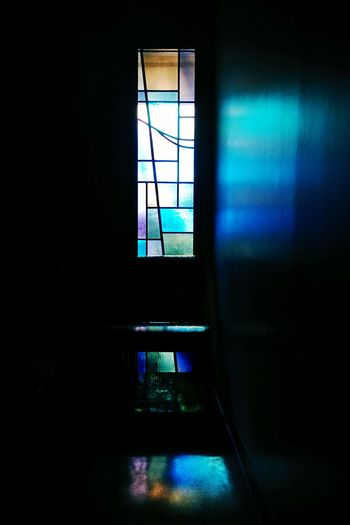The Places I've Been Today Church Stained Glass Empty Places