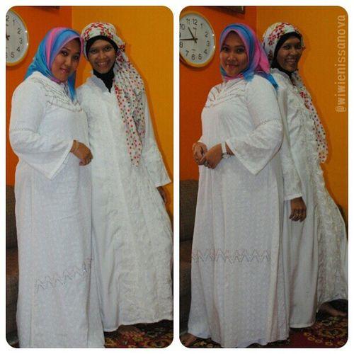 Yesterday's outfit.. with my lil and dearest sist.. Eidstyle Eidmubarak2013 Alfanova Bundang