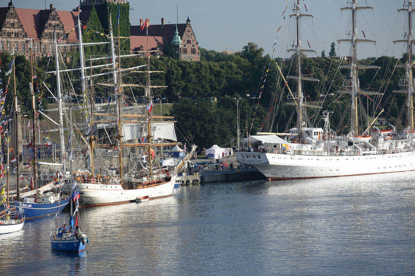 Harbor Odra Poland Segeln Szczecin Tall Ship Transportation Boat Day Harbor Mast Mode Of Transport Moored Nautical Vessel Polen River Sailing Boat Sea Ship Stettin Transportation Water Yacht