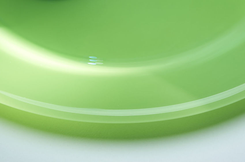 Lichtkurve_2018_10_11524 Green Color Studio Shot Close-up No People Indoors  Freshness Curve Backgrounds Pattern Abstract Lines And Shapes Dots