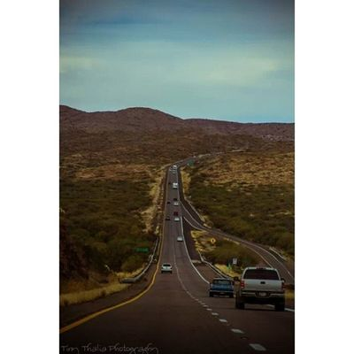On the road again. Tinythaliaphotography Fstopandstare Photography Road roadtrip travel arizona igdaily desert sky followforfollow f4f drive fineart