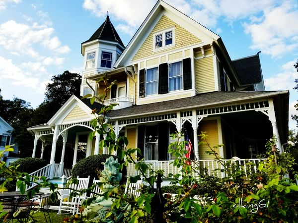 House Architecture Residential Building Building Exterior Day Growth Sky Cloud - Sky No People Outdoors Window Built Structure Home Ownership Edenton Northcarolina Rural Scene