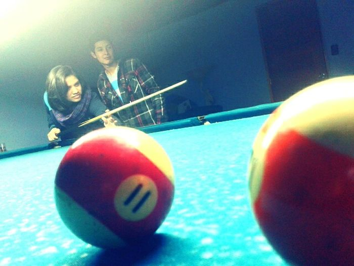 Golpea fuerte ... nada te lo impedirá! Sempreforte Underone Playing Pool Hello World ✌