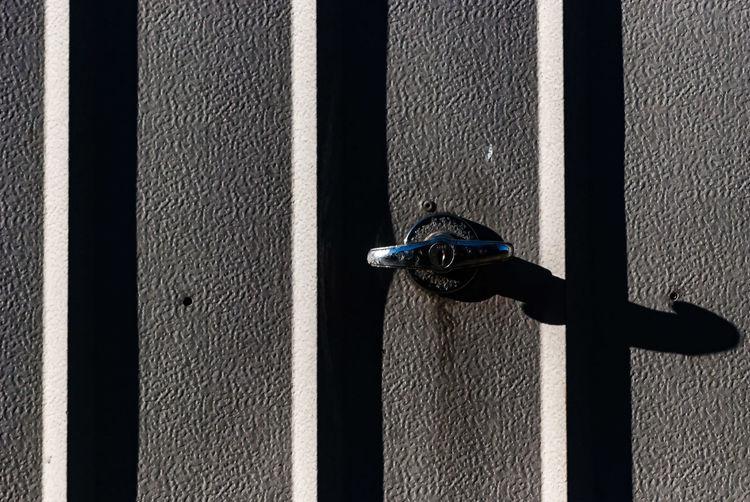 Metal Latch Of Door