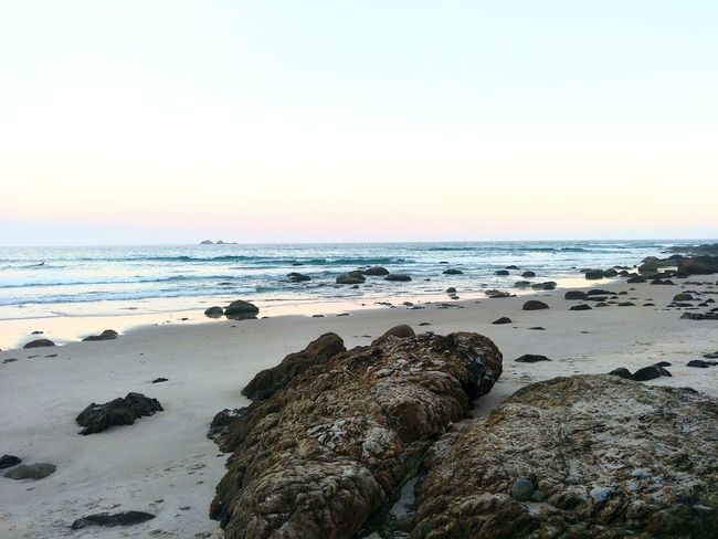 Beach Beach Sea Horizon Over Water Sand Tranquility Nature Sky