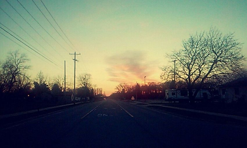 Glitch Just some it toke 👌📷 Skylover Sunset Road First Eyeem Photo
