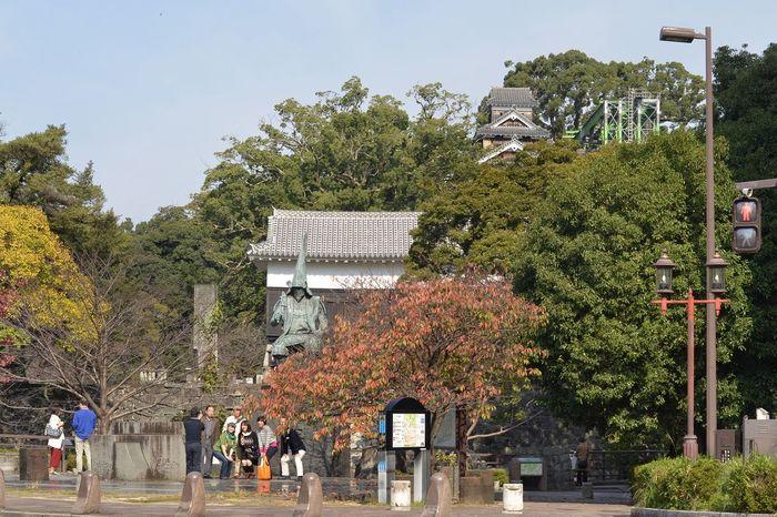 熊本城 加藤清正 記念撮影 Kumamoto Travel Photography Snapshot From My Point Of View Capture The Moment People Watching Sightseeing Spot Kumamoto Castle 熊本 旅写真