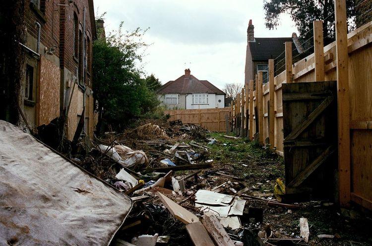 Sydenham. London Sydenham Abandoned Trash Remains Architecture South London Building Exterior City Outdoors Minolta 35mm Film Photography