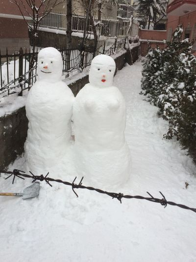 Bunlar da Sevgili Asivemavi Snow ❄ Snowman Snowwoman Müthiş çoçuklar Gibi Mutlu  oldum bugün müthiş di💞💞💞💞💞💞 Relaxing Taking Photos Enjoying Life Krmz1978 Aşk💞aşk💞aşk Showcase: January IPhoneography