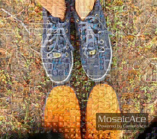 Mosaic Anniversary 7thyrdate Shoes Enjoying Life Color Portrait Favourite MyDarling  Mystory INDONESIA
