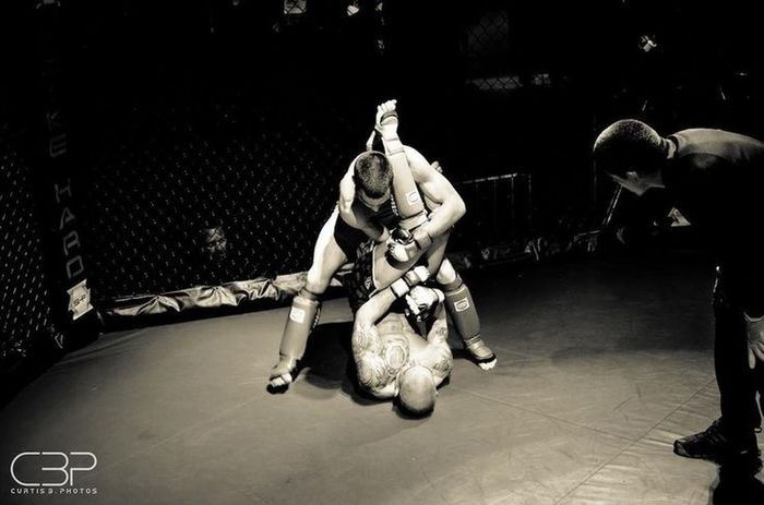 MMA Fighters Curtisbphotos  Blackandwhite