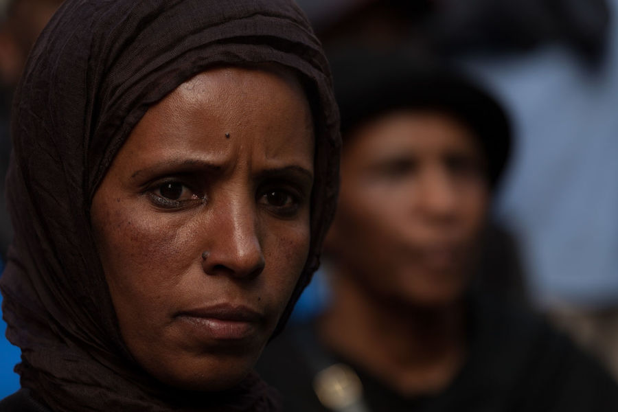 Deep Eyes Eritrea Portrait Portrait Of A Woman Refugees Refugees Crisis Traditional Clothing Woman