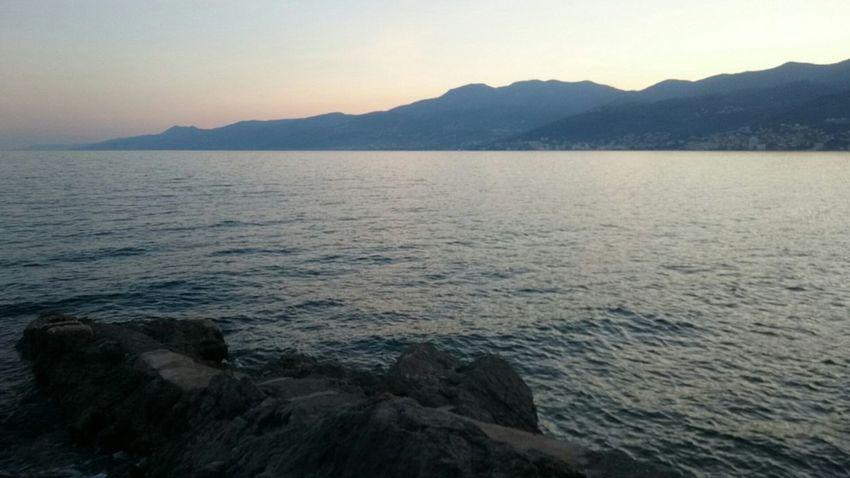 Sea Landscape Water Mountain No Filter