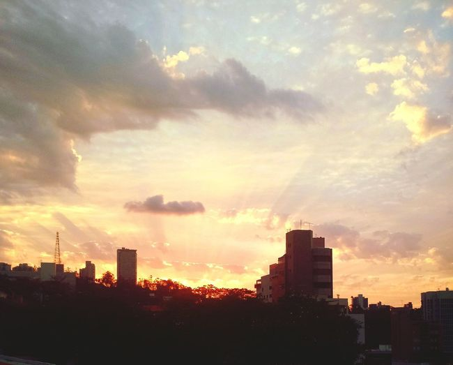 Sunset, Evening, Golden Sky, First Eyeem Photo, Cityscape Urban Skyline