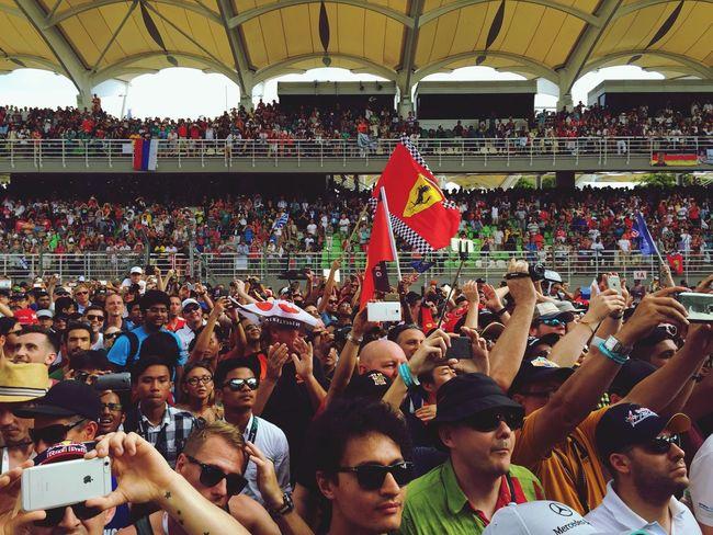 After the race Sepang Malaysia F1 Formula 1 Ferrari Kualalumpur Kuala Lumpur Malaysia