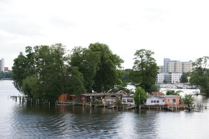 Berlin Fluss Flussinsel Haus Am Fluss Haus Am See Havel House Insel Island Isle Kleiner Wall Liebesinsel River Water